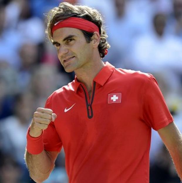 Roger Federer, pictured, defeated Novak Djokovic to win the Western & Southern Open