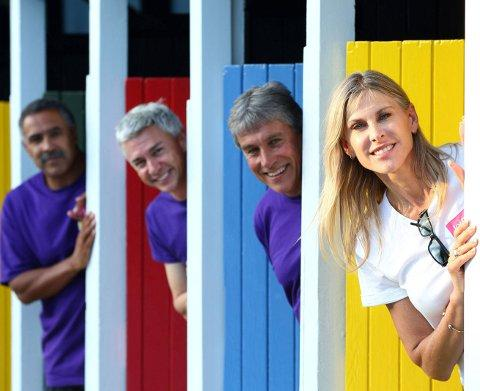 Daley Thompson and other sporting icons visit lido