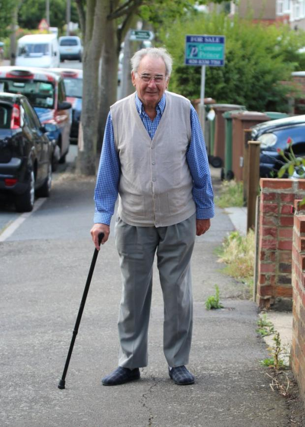 War hero stripped of blue badge after walking too well