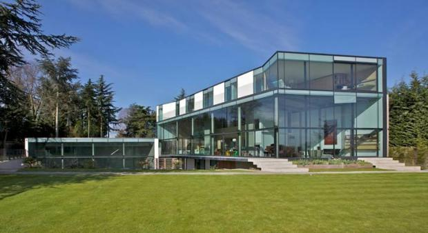 Surrey's House in The Ridge, Epsom, has been recognised for its design and is up for a small practices Structural Award 2012