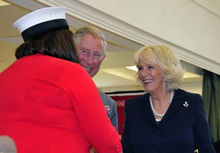 HRH The Prince of Wales and The Duchess of Cornwall visit Headley Court