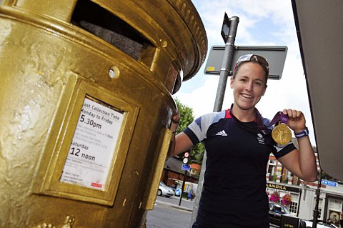 Your Local Guardian: Golden girl: Sophie Hosking is considering her future after the Olympic glory of London 2012
