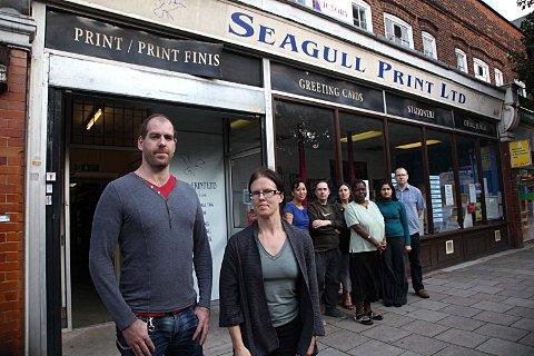 Seagull Print supporting people with mental health problems faces closure