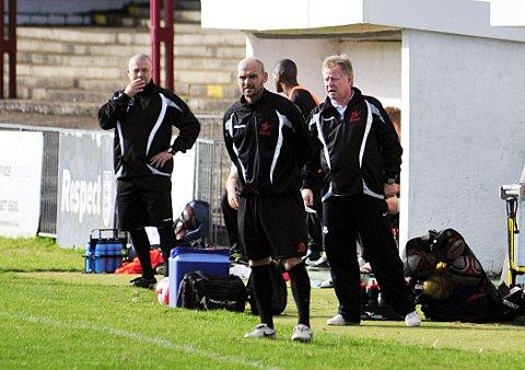 In the right direction: Robins boss Tommy Williams is happy with where his side is heading     SP68722