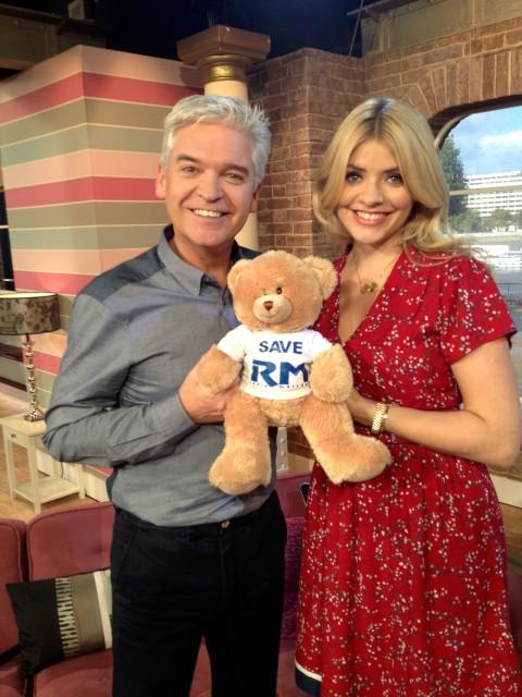 Holly Willoughby, Phillip Schofield and Ken Bruce join campaign to save radio station