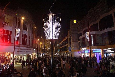 Croydon residents already entering into the Christmas spirit