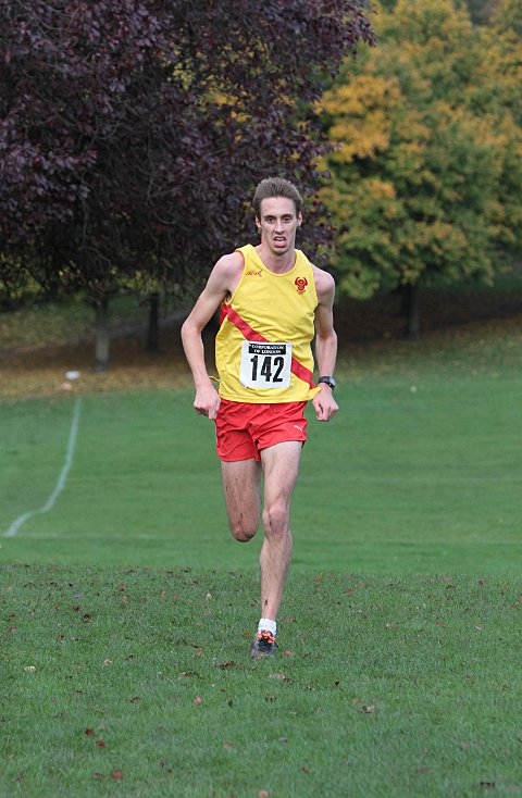 Your Local Guardian: Front runner: Fred Slemeck finished the Richmond Park race in 13th place (43:09)