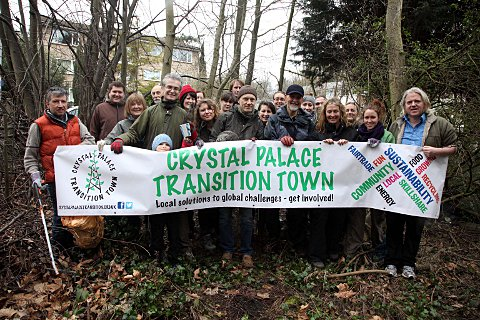 Crystal Palace Transition Town team aim to clean up their community.