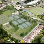 Architects vision of the All England Tennis Club