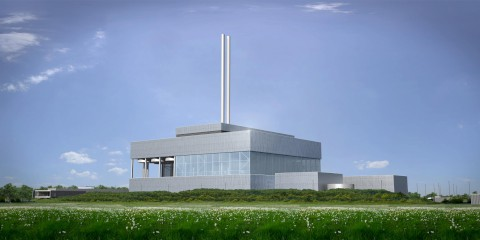 How the incinerator will look