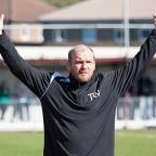 Staying put: Tommy Williams is to stay in charge at Carshalton Athletic