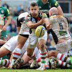 End of the line: Danny Care in action against Leicester last weekend. Picture: Alex Hannam