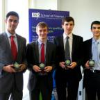 Team Stochastic: Ejaaz Ahamadeen, Peter Chambers, Edward Tidball and George Webb