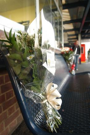 Daniel's body was found on a bench at Raynes Park station