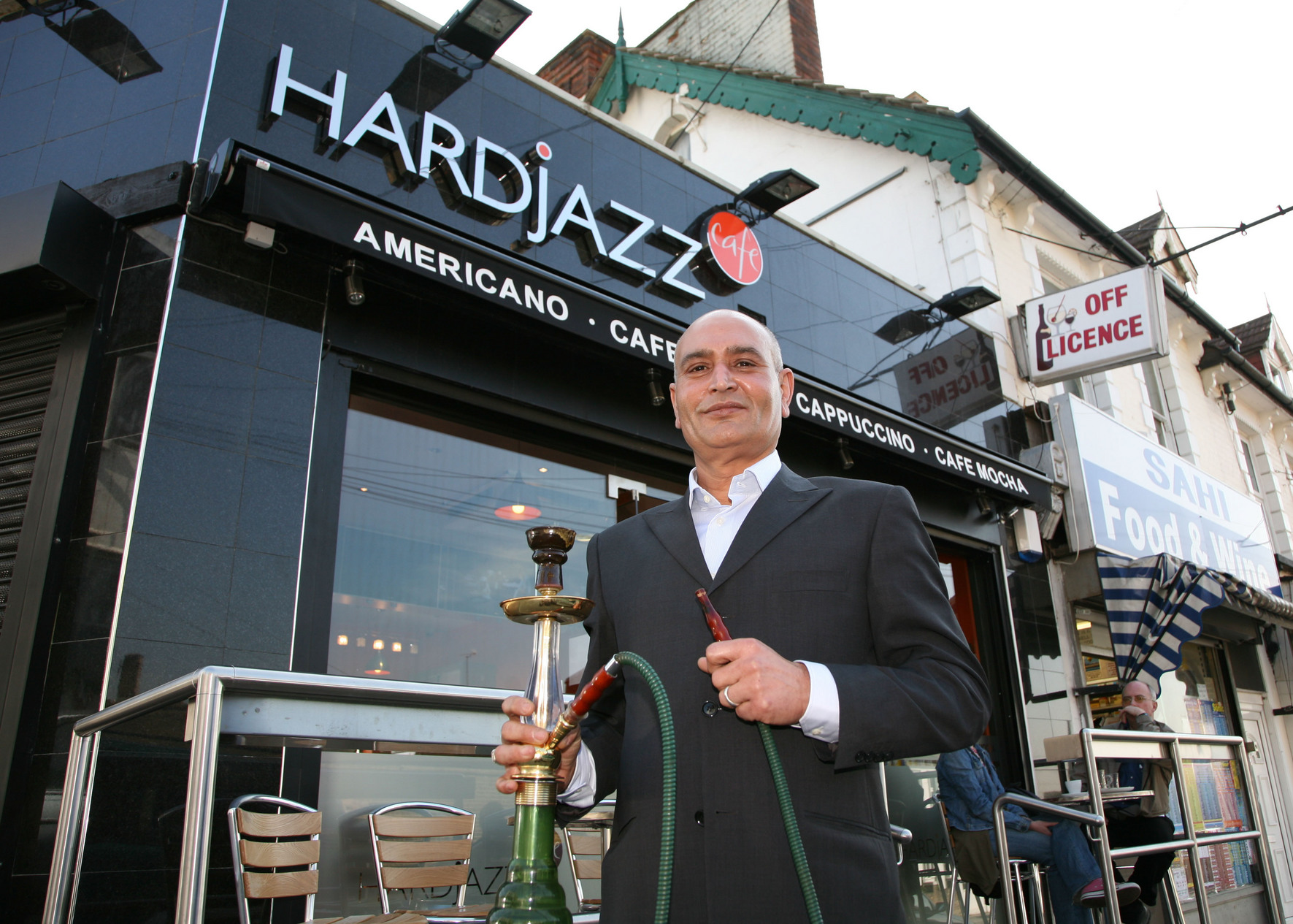 Ajazz Mir, is unsure how the new smoking ban will affect the smoking of shisha