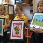 Yaer 1 Pop-Up Gallery at Stanley Park Infants' School