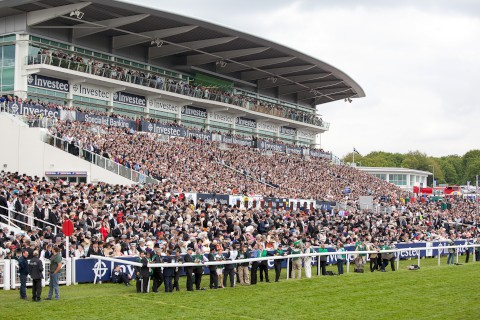 Racegoers enjoyed the summer atmosphere at Epsom on Saturday