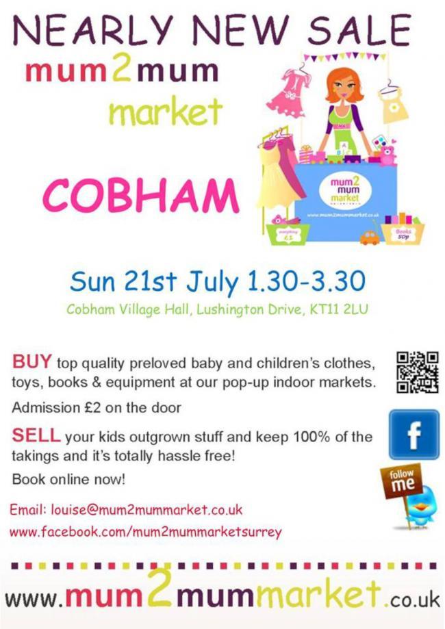 7ba5fa2d3 Mum2mum market baby & children's nearly new sale in Cobham | Your ...