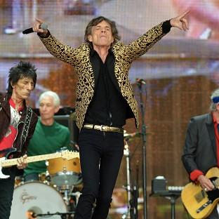 Your Local Guardian: Mick Jagger from The Rolling Stones on stage during Barclaycard British Summer Time in Hyde Park