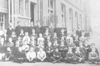A century ago: Winterbourne Boys school first-ever school pictures, taken in 1908 Picture: Croydon Local Studies Library and Archive Service.