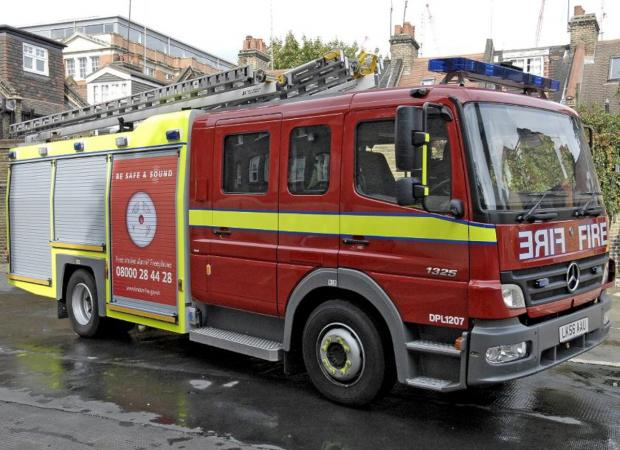Your Local Guardian: First floor shop fire in Shirley under control