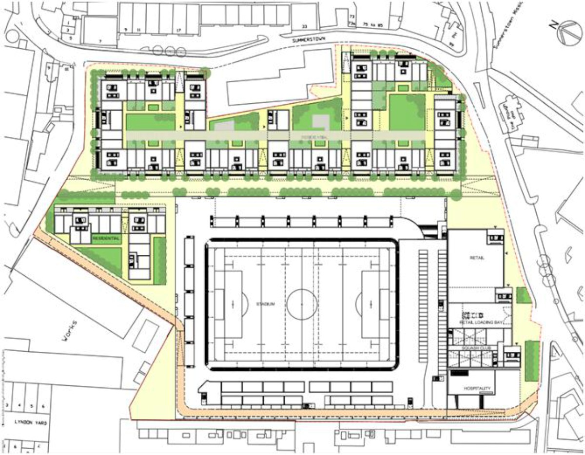 VIDEO AFC Wimbledon submits joint bid with developer Galliard