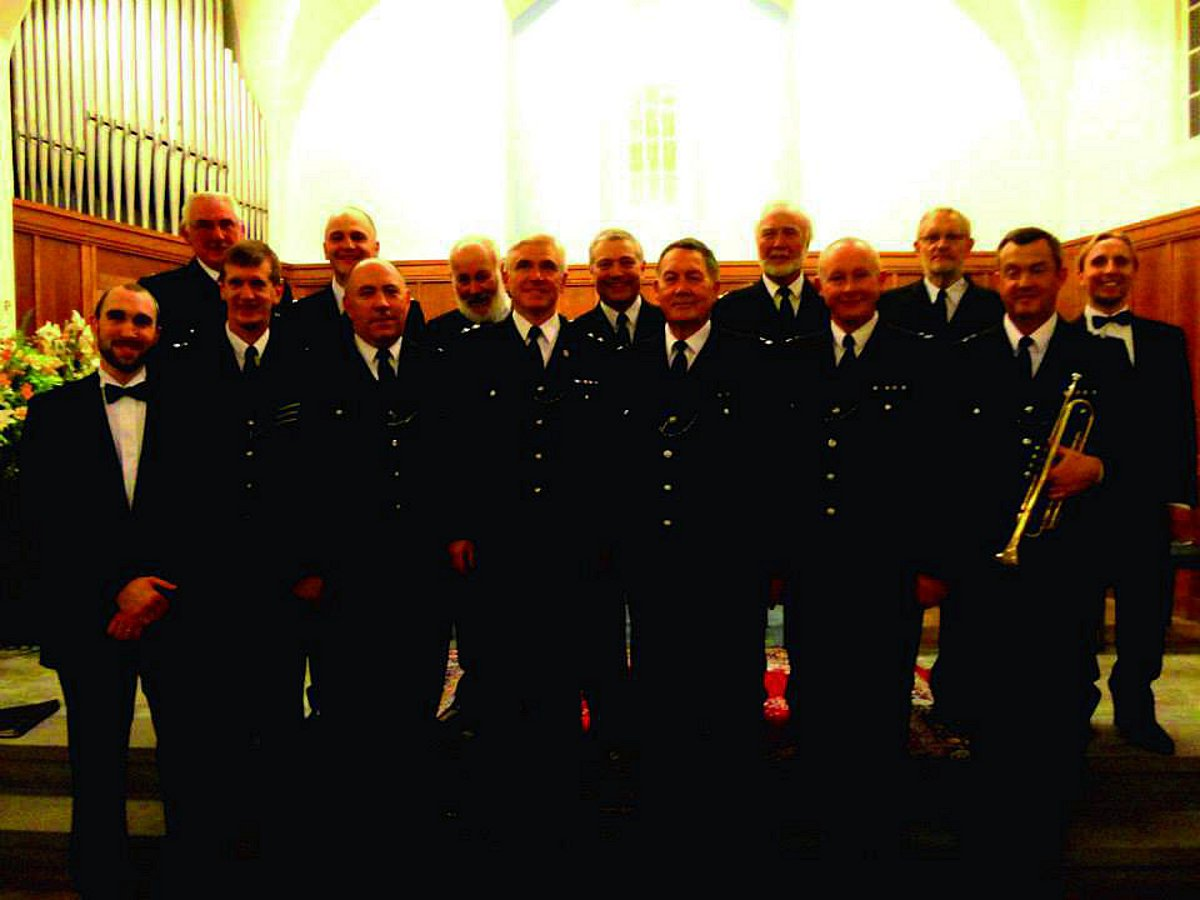The Metropolitan Police Male Voice Choir will be singing in Banstead