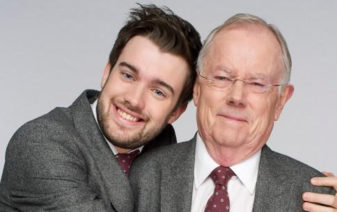 Jack Whitehall with his father Michael Whitehall