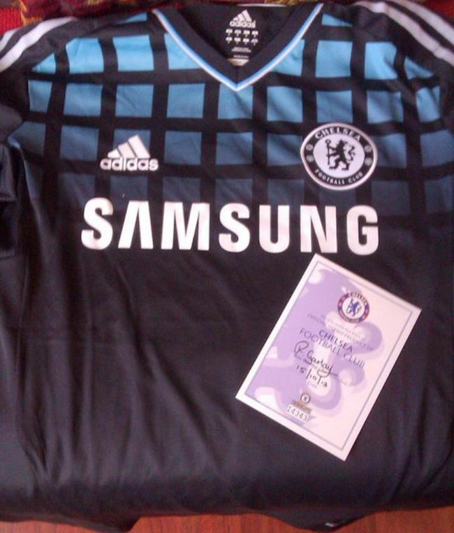 Frank Lampard s signed Chelsea shirt is up for grabs 5805afde1