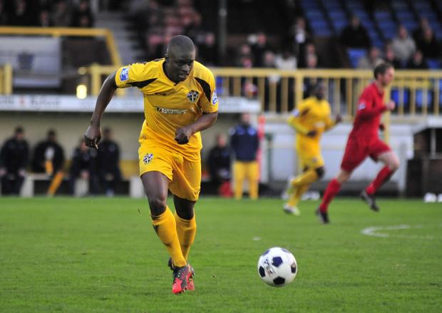 Your Local Guardian: Michael Boateng playing for Sutton United