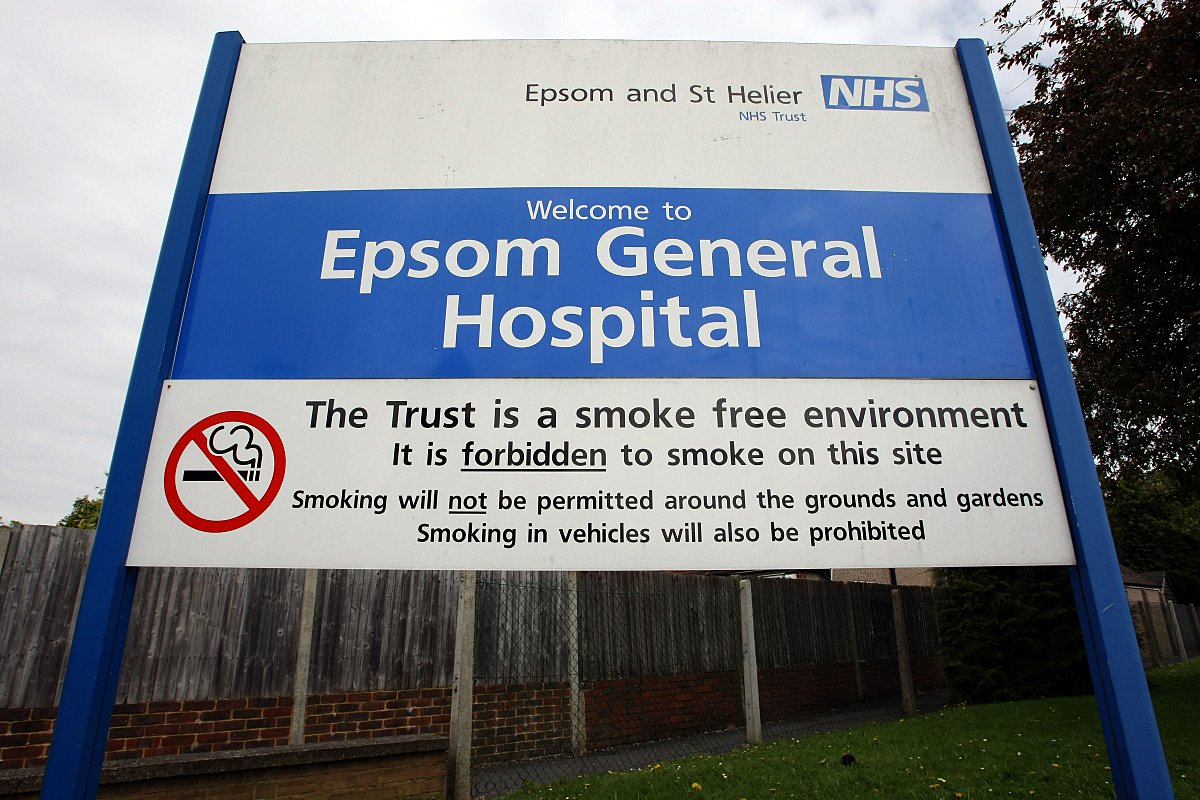 Epsom, Sutton and St Helier hospitals are among the safest in the country