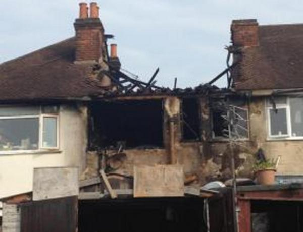 Number 8: Man hospitalised after major house fire in West Molesey