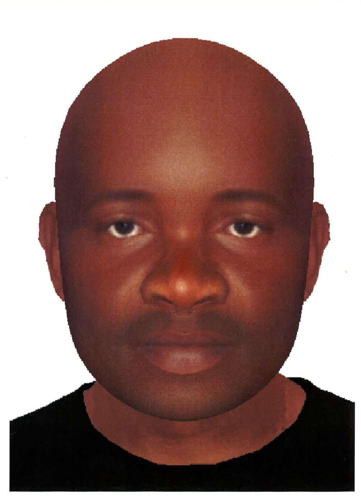 Police have released an e-fit of the suspect