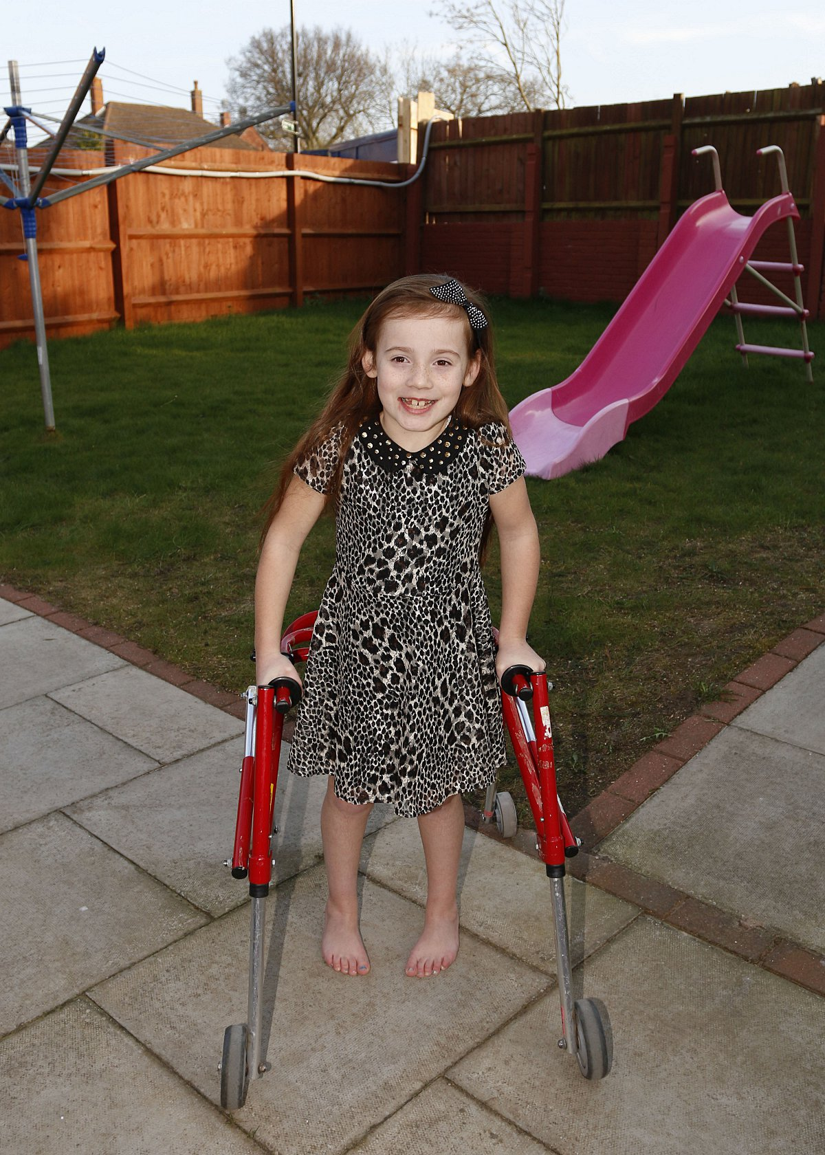 Girl who dreams of walking needs £65,000 for life-changing operation