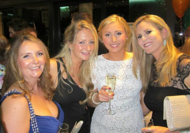 Your Local Guardian: Katie Paton, Jen Hesketh, Sasha Andrews and TV presenter Jenny Rudall enjoying the event
