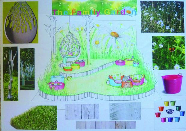 Your Local Guardian: Georgia Lindsay has designed a family friendly garden