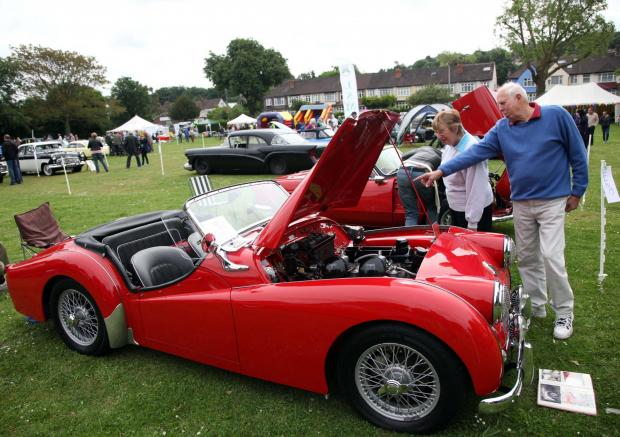 Your Local Guardian: The Classic Car Show is always a popular event