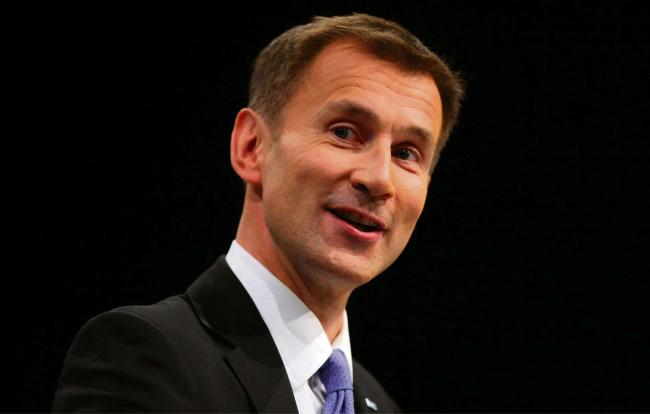 Jeremy Hunt, outgoing Health Secretary, said he is against plans to create a
