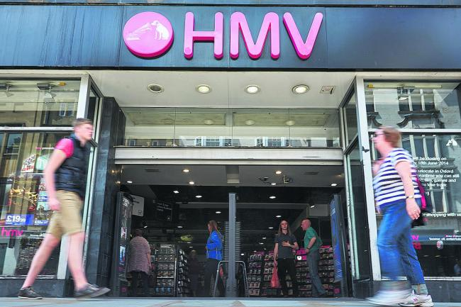 HMV will open a new store in Croydon in September