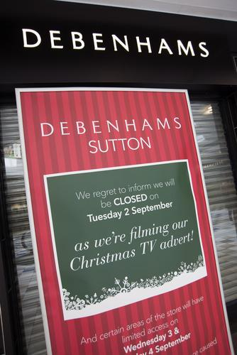 Christmas has come early for staff at Debenhams
