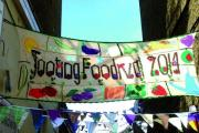 Glorious food: Six hundred people enjoyed a meal