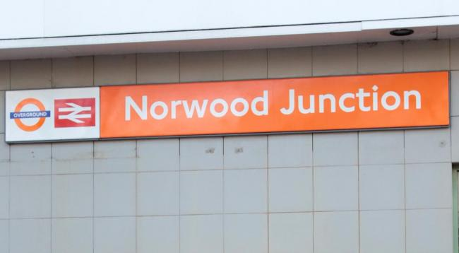 The station entrance at Norwood Junction, which might need a refit if the South Norwood Tourist Board get their way and the station is renamed Norwood Intergalactic