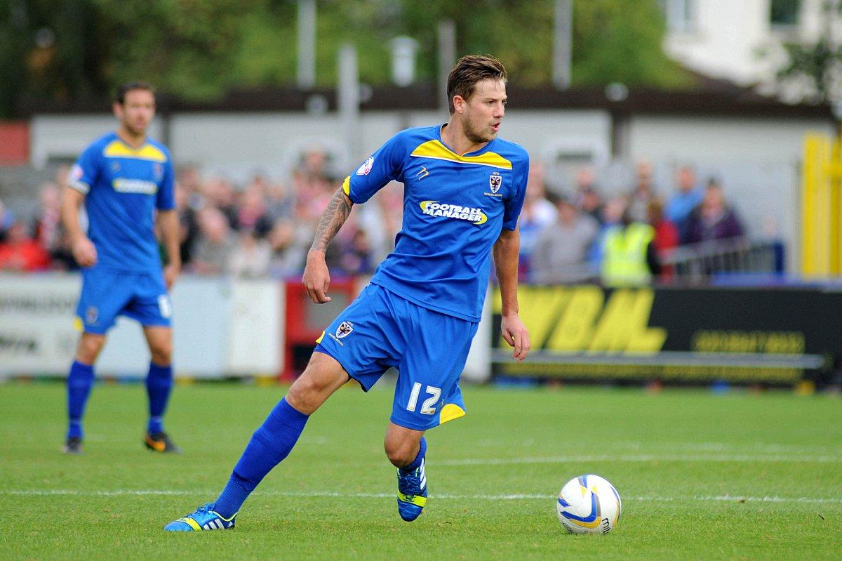 Something to prove: Harry Pell has a month at Grimsby Town to prove he is worthy of more game time at AFC Wimbledon           SP79026