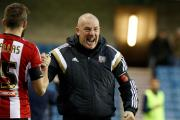 Driven: Mark Warburton reckons his men will not shirk from Fulham tonight