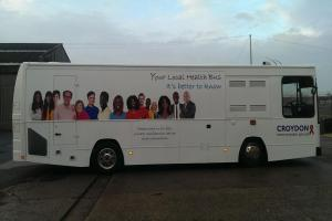 HIV testing bus touring Croydon to spread health message