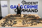 The guns handed in across south London as part of the amnesty