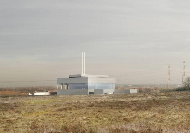 The proposed incinerator
