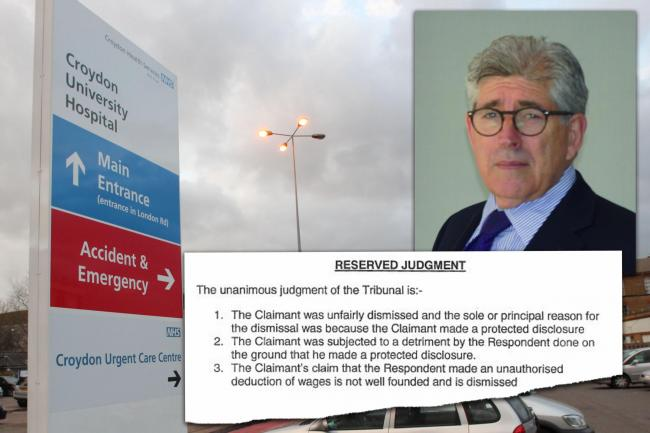 Dr Beatt was sacked for raising concerns about safety