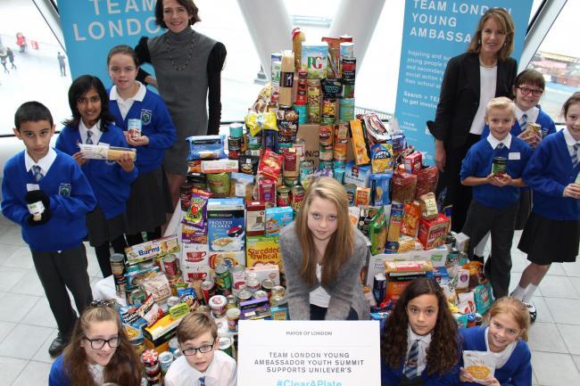Woodcote High Schoolgirl Grace Jones 15 To Set Up Food
