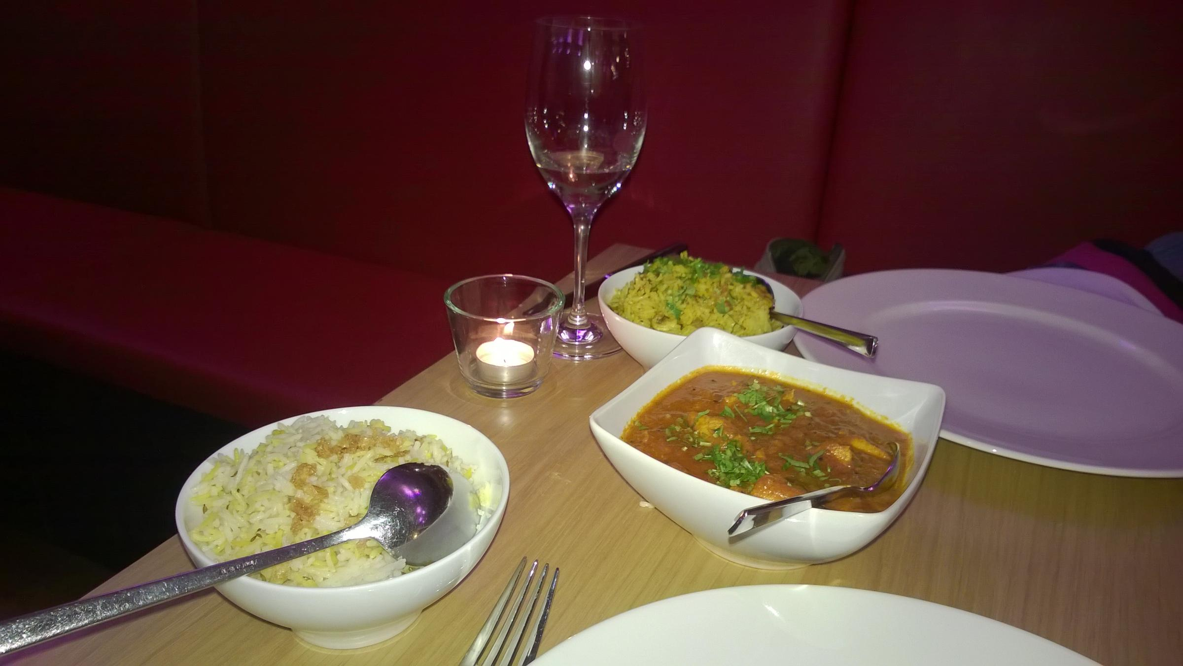 Fine dining: Time to eat at Rajeev's in Hamsey Green - tasty stuff